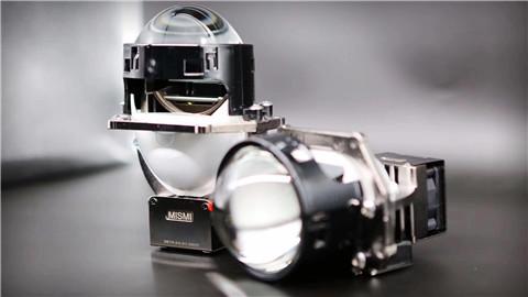 成都天一车灯米石LED双光透镜产品展示